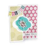 Elegant Flip - Its Card Framelits Dies - Sizzix