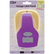 """Vintage Labels, .75"""" To 2"""" - Stacking Lever Punch"""