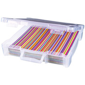 "12""X12"" Translucent - ArtBin Essentials Box W/Handle"