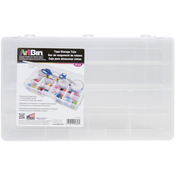 "16.5""X9.75""X3.25"" Transparent - ArtBin Tape Storage Box"