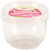 "Large & Tall 3.5""X2.87"" (9fl oz) - ArtBin Twisterz Jar Anti-Tarnish"