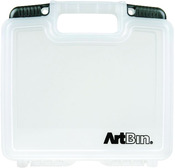 "10.25""X3.25""X9.625"" Translucent - ArtBin Quick View Deep Base Carrying Case"