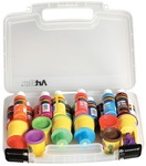 """14""""X3.375""""X10.25"""" Translucent - ArtBin Quick View Carrying Case"""
