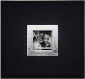 "Live, Love & Laugh - Black - Expressions Post Bound Album 12""X12"""