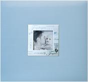 "Baby - Blue - Expressions Post Bound Album 8""X8"""