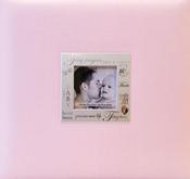 "Baby - Pink - Expressions Post Bound Album 8""X8"""