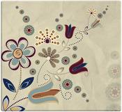 """Folk Floral - Designs Post Bound Scrapbook 12""""X12"""""""