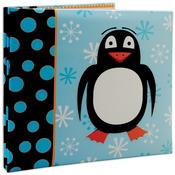 """Penguin - 3D Post Bound Scrapbook 12""""X12"""""""