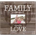 "Family Love Post Bound Scrapbook W/Window 12""X12"""