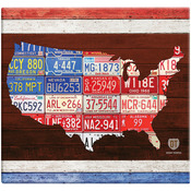 "American License Plate Post Bound Scrapbook 12""X12"""