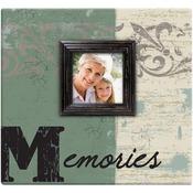 """Memories Post Bound Scrapbook W/Window 12""""X12"""""""