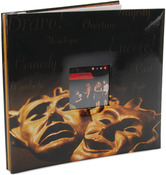 "Drama Mask - Sport & Hobby Post Bound Album 12""X12"""