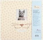 """Cat - Pet Post Bound Album 12""""X12"""""""