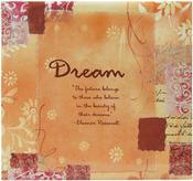 "Dream - Inspiration Post Bound Album 12""X12"""