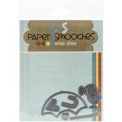 Wedding Shower Paper Smooches Die