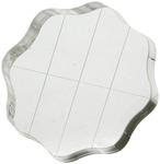 Apple Pie Memories Acrylic Stamp Block W/Grips & Grid