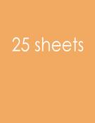"Citrus Slice Card Shoppe Heavyweight Cardstock 8.5""X11"" - Bazzill"