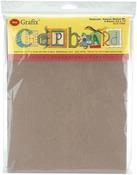 """Natural - Medium Weight Chipboard Sheets 8.5""""X11"""" 6/Pkg"""