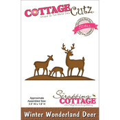 Winter Wonderland Deer Elites Die - CottageCutz
