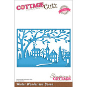 Winter Wonderland Scene Elites Die - CottageCutz