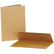 "Kraft - Value Pack Cards & Envelopes 5""X7"" 50/Pkg"