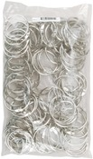 "Chrome Book Ring 1.5"" 100/Pkg"