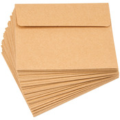 "Kraft - Smooth A2 Envelopes (4.375""X5.75"") 50/Pkg"