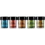 Mermaid Seashells - Lindy's Stamp Gang 2-Tone Embossing Powder .5oz 5/Pkg