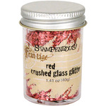 Red - Stampendous Glass Glitter 1oz