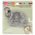 Gifts To Tie - Stampendous House Mouse Cling Rubber Stamp