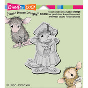 Graduate - Stampendous House Mouse Cling Rubber Stamp