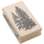 Pine Trees - Inkadinkado Mounted Rubber Stamp