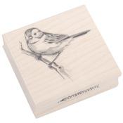 Sparrow - Inkadinkado Mounted Rubber Stamp