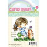 Jessie's Summer Garden - CandiBean Cling Mounted Rubber Stamp