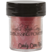Candy Cane Red Gold2 -Tone Embossing Powder, Lindy's Stamp Gang