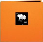 Orange 12 x 12  Cloth Cover Post Bound Album - Pioneer