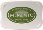 Bamboo Leaves - Memento Full Size Dye Ink Pad