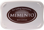 Rich Cocoa - Memento Full Size Dye Ink Pad