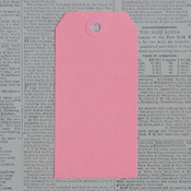 "Pink Lace, 1.625""X3.25"" - Manila Shipping Tags #2 12/Pkg"