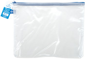"Mesh Bag W/Zipper, 10""X13"" Clear"