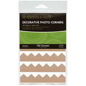 Kraft - Decorative Photo Corners 126/Pkg
