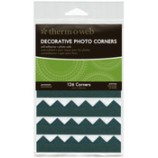 Black - Decorative Photo Corners 126/Pkg