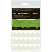 Ivory - Decorative Photo Corners 126/Pkg