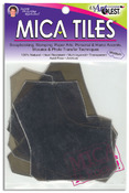 "Approximately 5""X6"" - Mica Tile Medium Pieces 1oz"