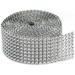 8 Rows, Silver - Bling On A Roll 3mmX2yd