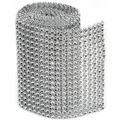 18 Rows, Silver - Bling On A Roll 3mmX1yd