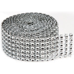 6 Rows, Silver - Bling On A Roll 4mmX2yd