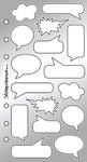 Comic Book Captions - Sticko Classic Stickers