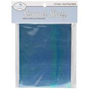 """Gemstone - Mylar Shimmer Sheetz Sampler 5""""X4"""" 10/Pkg"""
