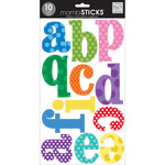 Primary Colors with Dots - Alphabet Stickers - Me and My Big Ideas